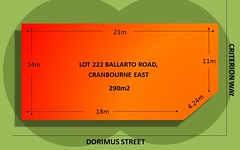 Lot 222 Ballarto Road, Cranbourne East VIC