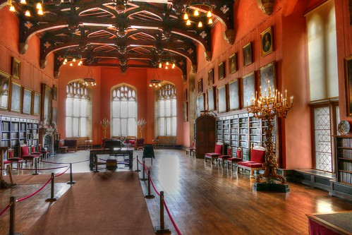 Raby Castle, County Durham, Barons Hall