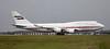 Dubai Air Wing Boeing 747-400, A6-HRM