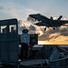 USS Ronald Reagan (CVN 76) conducts flight operations.