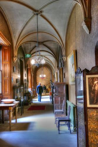 Raby Castle, County Durham, corridor