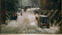 Robert Henri, Snow in New York (detail)