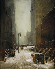 Robert Henri, Snow in New York