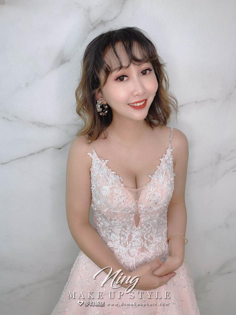 【新秘羽寧】新娘造型創作 / 短髮-韓系捲髮