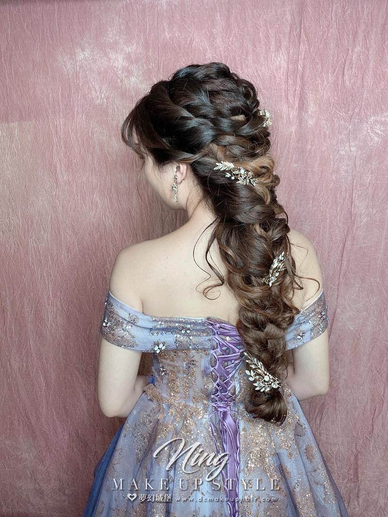 【新秘羽寧】新娘造型創作 / 女神編髮造型
