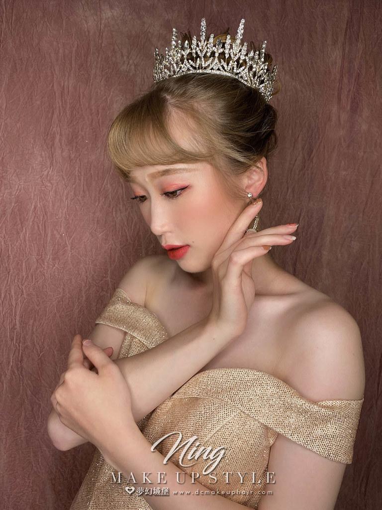 【新秘羽寧】新娘造型創作 /  皇冠公主造型