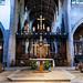 The altar - Interior Church of St Nicholas in Newcastle