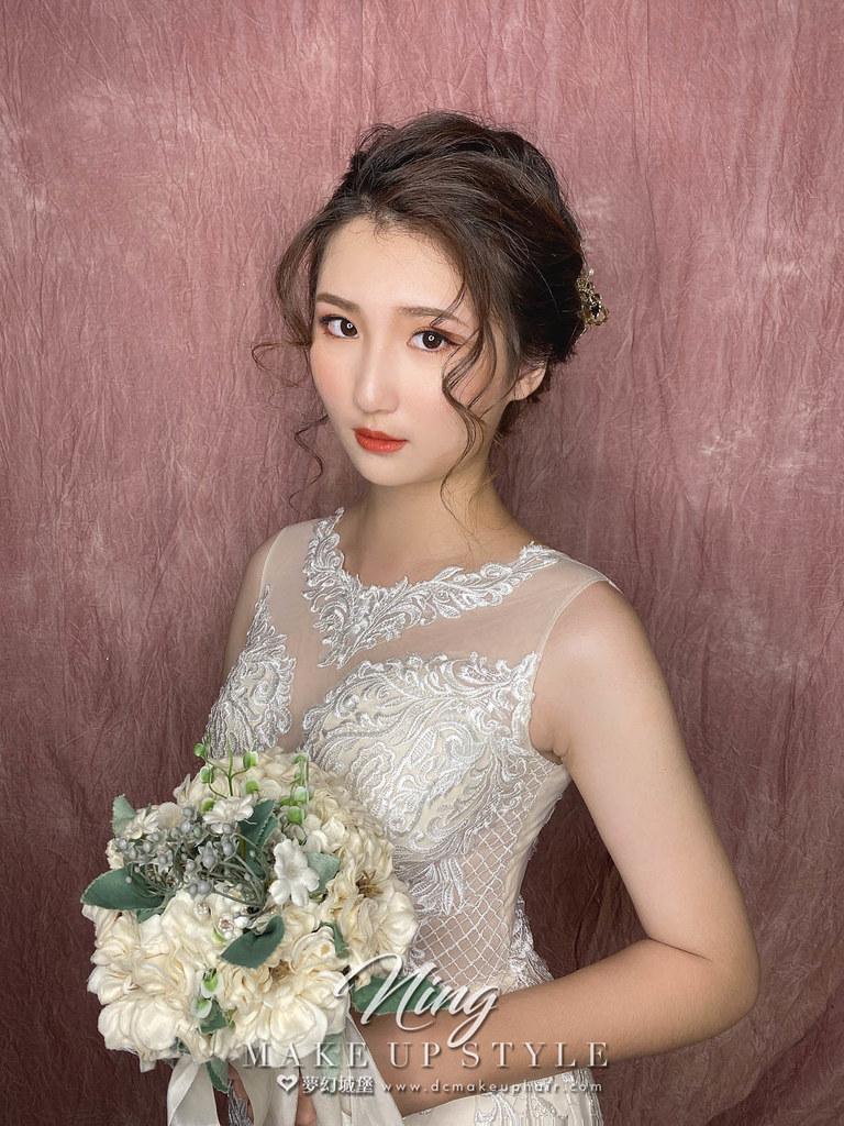 【新秘羽寧】新娘造型創作 / 韓系盤髮