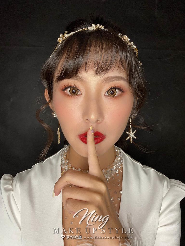 【新秘羽寧】新娘造型創作 / 女神奢華風