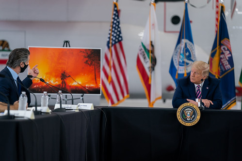 President Trump in California by The White House, on Flickr