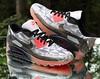 Nike Air Max 90 Ice Dark Grey Men's Size 13 Black Infrared 631748-006