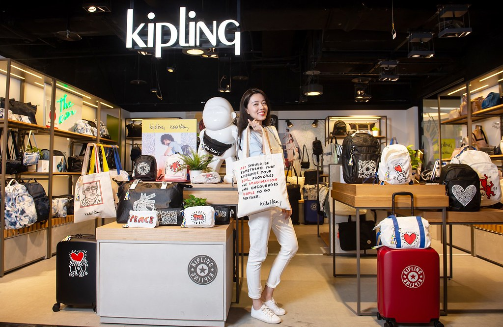 圖9. Kipling X Keith Haring限量聯名系列 「袋」你生活加點樂趣
