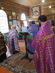 Молебен в Троицком храме ст. Кубанской