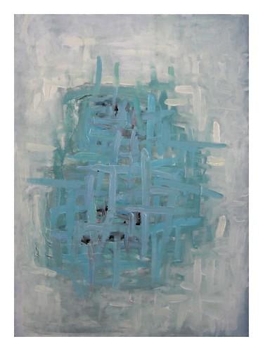 JOHN CULLEN 'Beckett's Dilemma' Oil on canvas, 70x50cm