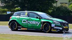 Photo of Tom Oliphant, Cicely Motorsport Mercedes-Benz A-Class, 2018 BTCC R11, Oulton Park, 10th June