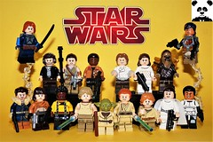 The Heroes [Star Wars Minifigs #14]