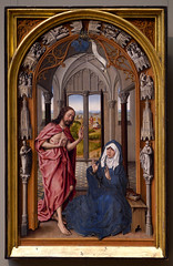 Juan de Flandes, Christ Appearing to His Mother