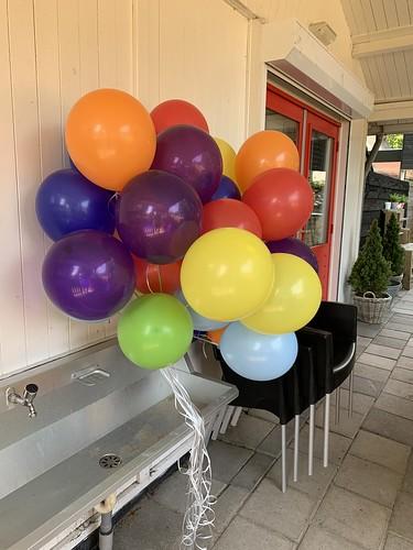 Heliumballonnen Speeltuin Kralingen Rotterdam