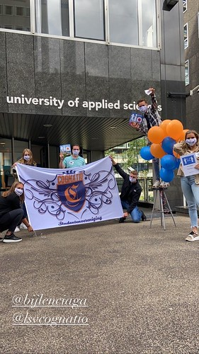 Heliumballonnen University of Applied Sciences Hoge School TIO Rotterdam
