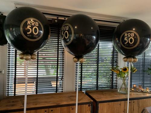 Cloudbuster Rond Verjaardag 50 Jaar Restaurant de Schone Lei Kralingse Plas Rotterdam
