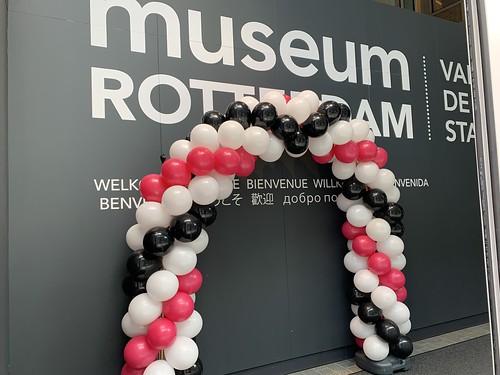 Ballonboog 6m Museum Rotterdam locatie Rodezand