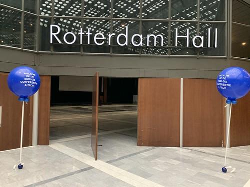 Cloudbuster Rond Bedrukt World Trade Center Rotterdam