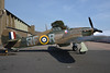 RAF Hawker Hurricane G-HURI In her new Markings R4175 Aircraft use to have P3700