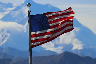 Denali big flag