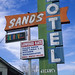 sands motel / route 66. barstow, ca. 1999.