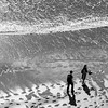 Tenby - Two People on the Sand