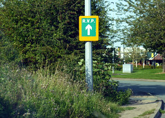 Photo of RVP sign, Broughton Shopping Park, Flintshire.