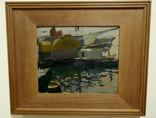 """""""Puerto de Valencia"""", 1904, Joaquín Sorolla y Bastida (1863-1923), Musée des Beaux-Arts, Bilbao, Biscaye, Pays basque, Espagne."""