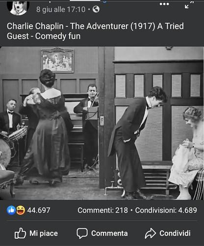 Charlie Chaplin 🎩 #vagabondo Edna Purviance 👒 #1917 #batteria #drums #orchestra 🎥#elettritv💻📲 #webtv #artedistrada #musicaoriginale #cinemamuto 🎬 #canalemusicale #webtvmusicaoriginale #playlist #musi
