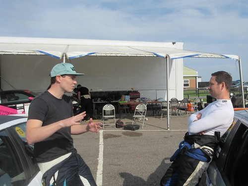 Andrew Bourke and James Ford - Post race debrief