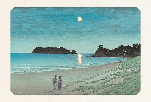 57-Carte postale // 10x15cm // Moonlight at Shichiri