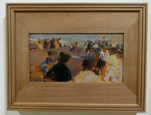 """""""Esperando las barcas"""", 1902-1904, Joaquín Sorolla y Bastida (1863-1923), Musée des Beaux-Arts, Bilbao, Biscaye, Pays basque, Espagne."""