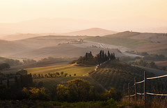 Morning lights on Podere Belvedere - Val d'Orcia, Tuscany (Italy) #2