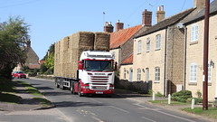 Photo of Lorry load of straw