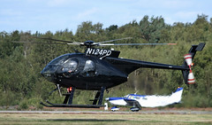 Photo of McDonnell Douglas MD369E / MD500E helicopter N124PD