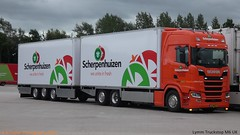 Photo of Scania Next Generation S500 16-BND-9 Scherpenhuizen [ NL ] Lymm Truckstop M6 UK