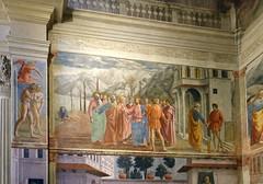 Masaccio, Expulsion and The Tribute Money
