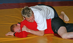 Photo of English Schools Wrestling Competition 2007