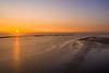 Sunset Crosby beach