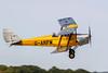 de Havilland DH82A Tiger Moth getting airborne at Lashenden / Headcorn aerodrome, UK