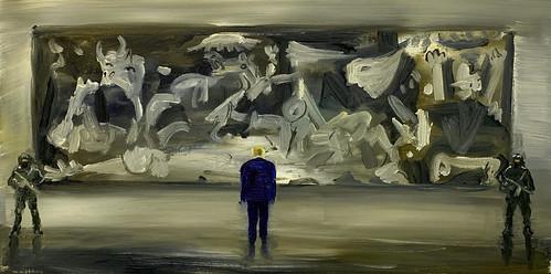 Beth Namenwirth - De president bekijkt de Guernica