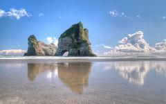 Wharariki Beach - HDR