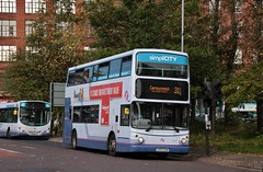 Photo of First Glasgow LK53 EXW (33358) | Route 31 | Stockwell St, City Centre