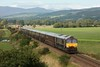 DALG1-32 GBRf 66-743 heads The Royal Scotsman past Dalmarnock, Dalguise