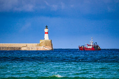Photo of Fishing boat returns to Fraserburgh Harbour
