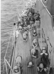Anti-flash exercise onboard HMNZS Roititi, Operation Grapple 1957